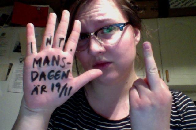 Min 8:e mars talktothehand-hand